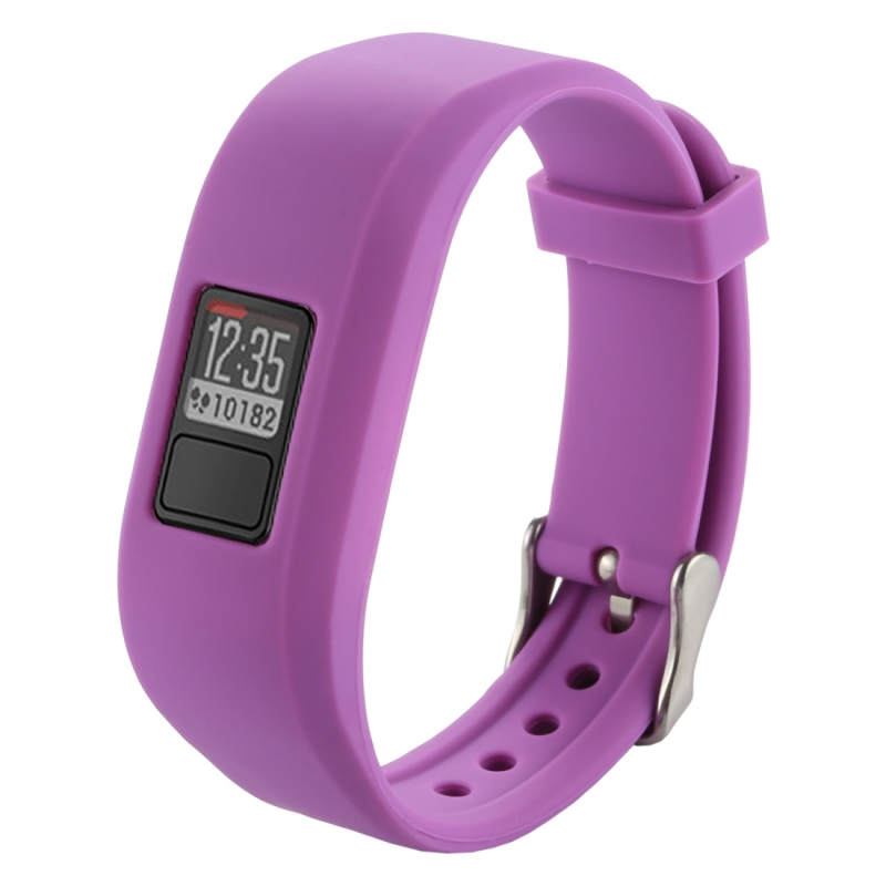 For Garmin Vivofit 3 Smart Watch Silicone Watchband, 24 ...