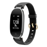 S3 0.96 inch OLED Display Bluetooth Sports Smart Bracelet, IP67 Waterproof, Support Heart Rate Monitor / GPS Trajectory / Pedometer / Calls Remind / Sedentary Reminder / Remote Capture / Distance, Compatible with Android and iOS Phones (Black)