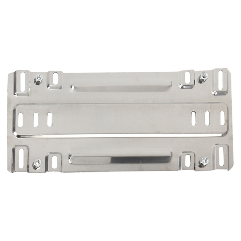 Stainless Steel License Plate Bracket Vehicle Bottom Automobile Conversion Frame