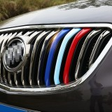 3 PCS Car Front Grille Plastic Decoration Strip Front Grill Grille Inserts Cover Strip Car Styling Accessories for Envision