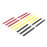 15 PCS Car Front Grille Plastic Decoration Strip Front Grill Grille Inserts Cover Strip Car Styling Accessories for Volkswagen and Ford Mondeo, 11.9*1.6cm