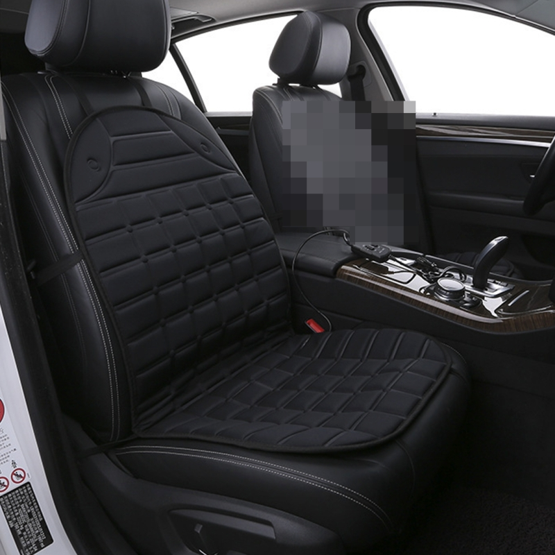 12v Heated Car Seat Cushion Cover Seat Heater Warmer Winter Car Cushion Car Driver Heated Seat Cushion Black
