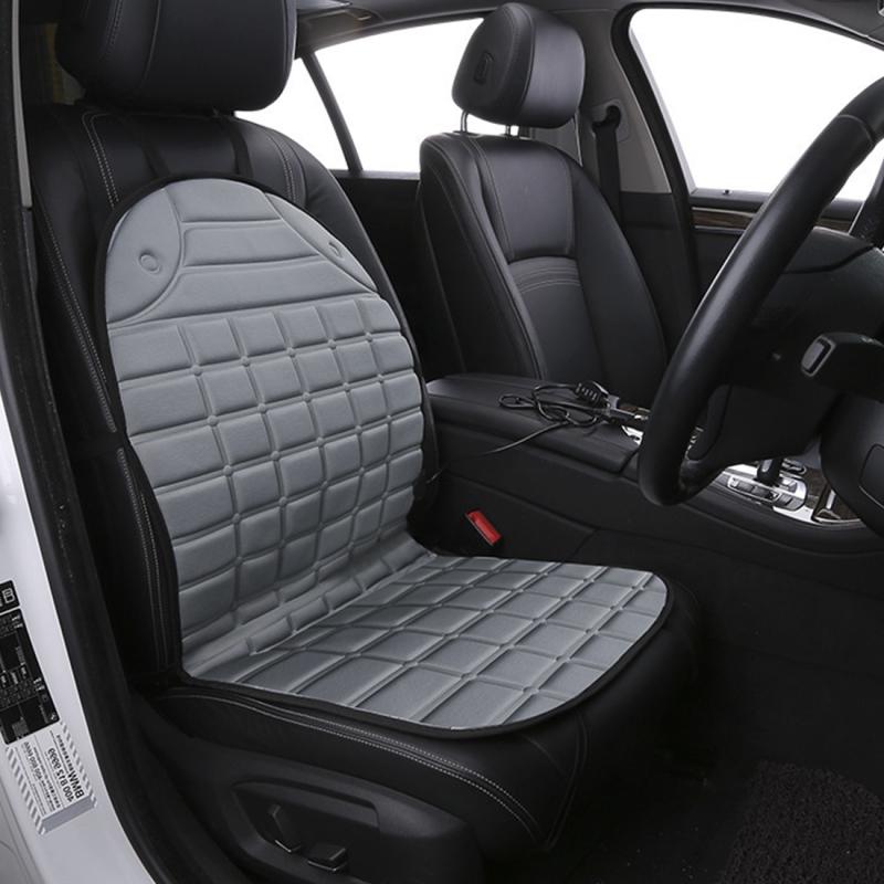12V Heated Car Seat Cushion Cover Heater Warmer Winter Driver