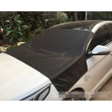 Magnetic Car Front Windshield Car Snow Block / Frost Block Cover Winter Car Snow Shield Cover Auto Front Windscreen / Rain / Frost / Sunshade Auto Snow Shield, 210*120cm