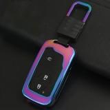 Car Auto Square Buckle Key Shell Zinc Alloy Car Chain Shell Car Key Shell Case Key Ring for BYD