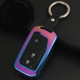 Car Auto Round Buckle Key Shell Zinc Alloy Car Chain Shell Car Key Shell Case Key Ring for BYD