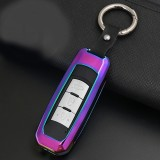 A Style Car Auto Round Buckle Key Shell Zinc Alloy Car Chain Shell Car Key Shell Case Key Ring for Trumpchi