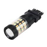 3157 5W 450LM 60LEDs DC 12V SMD-4014 Car Auto Brake Light Turn Signal Lights Car Source (White Light+Yellow Light)