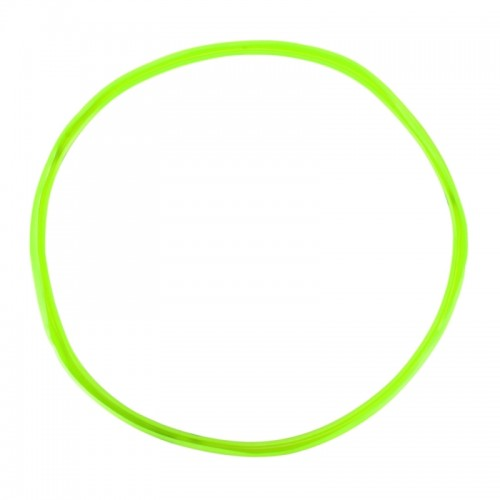 4 PCS Universal Decorative Scratchproof Stickup Flexible Wheel Protection Ring Car Wheel Line Protection Ring Tire Protection Ring Wheel Decorative Ring, 20 inch (Green)