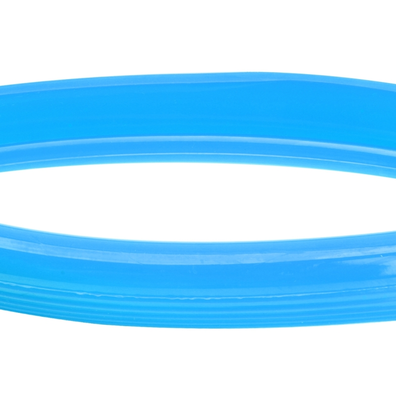 4 PCS Universal Decorative Scratchproof Stickup Flexible Wheel Protection Ring Car Wheel Line Protection Ring Tire Protection Ring Wheel Decorative Ring, 20 inch (Blue)