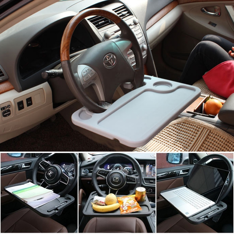 Multi Function Car Steering Wheel Computer Card Table Box