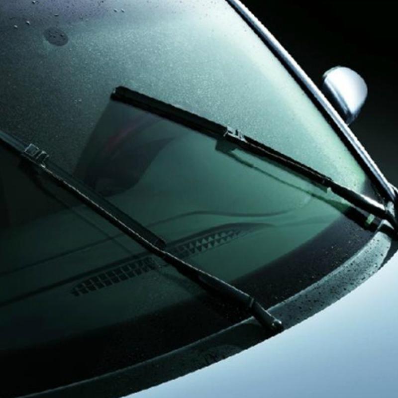 A Pair Natural Rubber Car Wiper Blade Auto Soft Windshield Wiper for 2014 X-Trail