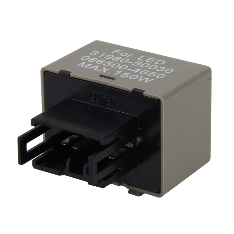 Auto Car-styling DC 12V 8-Pin LED Turn Signal Car Flasher Relay Fix Hyper Flash General Lamp-LED Light Relay for Honda and Lexus