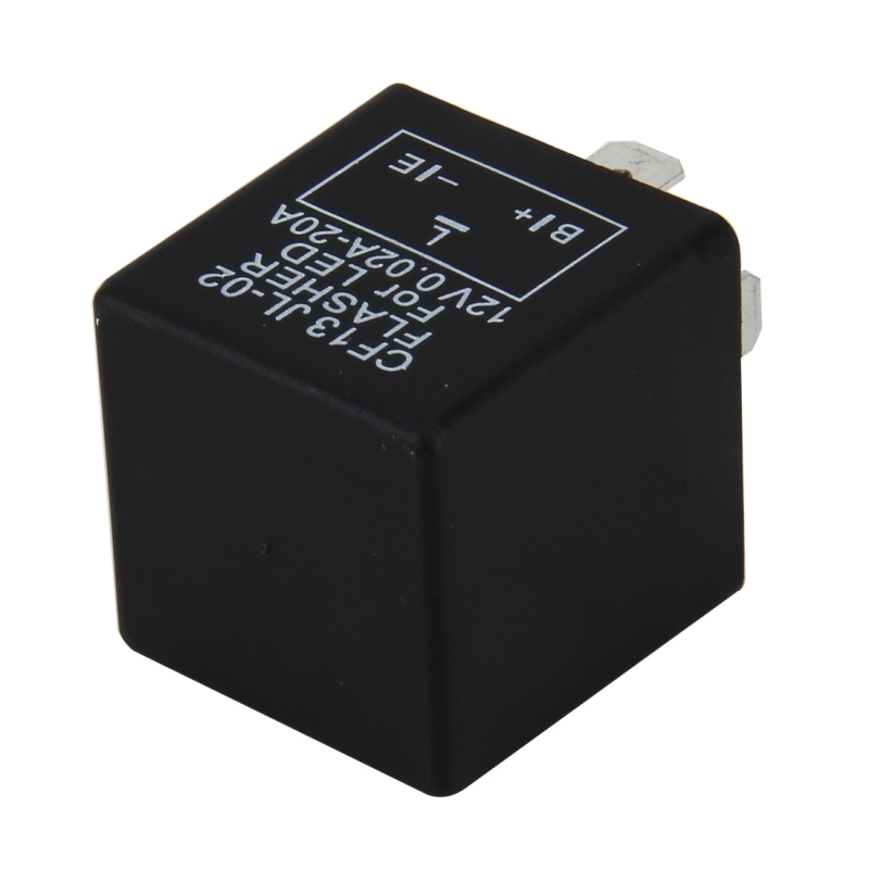 CF13 JL-02 Flasher for LED Auto Car-styling 3-Pin LED Turn Signal Car Flasher Relay Fix Hyper Flash General Lamp-LED Light Relay for Japanese Car
