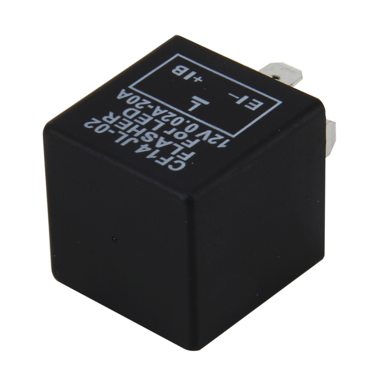CF14 JL-02 Flasher for LED Auto Car-styling LED Turn Signal 3-Pin Car Flasher Relay Fix Hyper Flash General Lamp-LED Light Relay for European Cars
