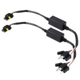 2 PCS DC 12V Universal H4 Bulb Harness Wiring Relay Harness Relay Wiring HID Relay Wiring Harness HID H4 Xenon Light System Relay Harness for Hi/Lo HID
