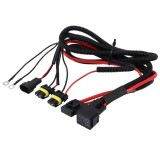 DC 12V 40A 9005 Bulb Strengthen Line Group HID Xenon Controller Cable Relay Wiring