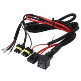 DC 12V 40A H3 Bulb Strengthen Line Group HID Xenon Controller Cable Relay Wiring