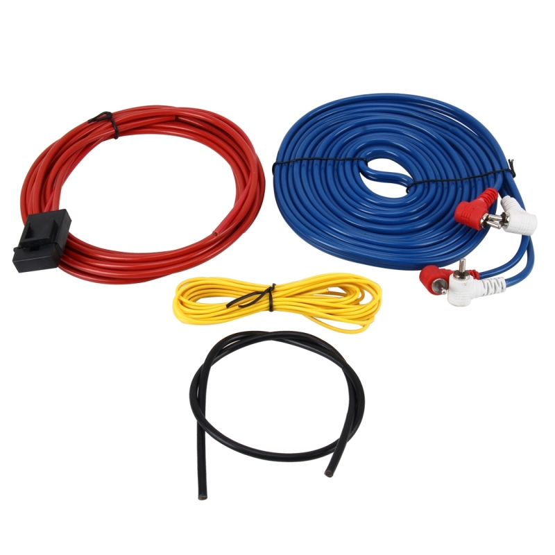 Car Audio Speakers Wiring kits Speaker Cable Subwoofer Amplifier Installation Cable Kit Power Cable Car Speaker Power Amplifier Car Power Amplifier Car Audio Line + Power Line Suit