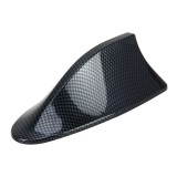 Universal Car Carbon lead Material Antenna Aerial Shark Fin Radio Signal Auto SUV Truck Van Roof Shark Fin Antenna Radio Signal Aerial with Radio Function