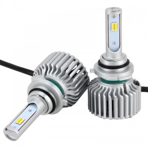 2 PCS 9006 26W 2250LM Car Headlight LED Auto Light Built-in CANBUS Function (White Light, Yellow Light, Warm White Light), DC 9-16V