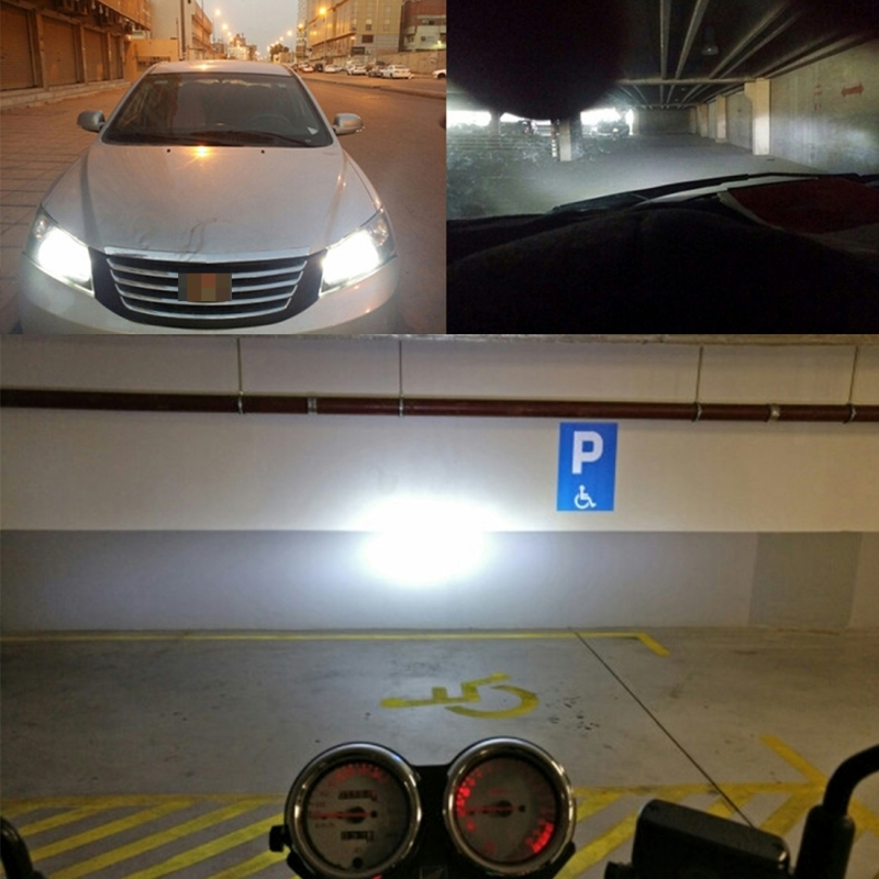 2 PCS H4 26W 2250LM Car Headlight LED Auto Light Built-in CANBUS Function (White Light, Yellow Light, Warm White Light), DC 9-16V