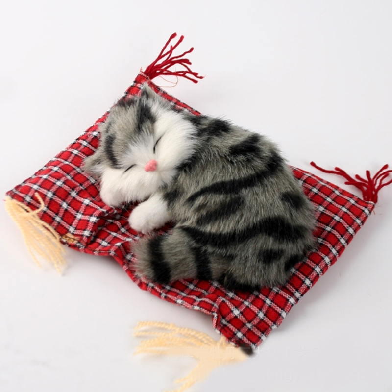 Simulation Cat Plush Sleeping Toy