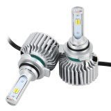2 PCS 9012 26W 2250LM Car Headlight LED Auto Light Built-in CANBUS Function (White Light, Yellow Light, Warm White Light), DC 9-16V