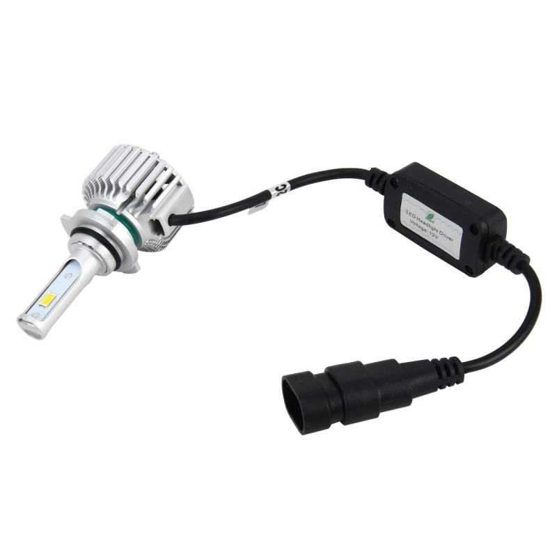 2 PCS 9012 26W 2250LM Car Headlight LED Auto Light Built-in CANBUS Function (White Light, Yellow Light, Warm White Light), DC 9-16V