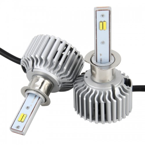 2 PCS H1 26W 2250LM Car Headlight LED Auto Light Built-in COB LED Chip and CANBUS Function (White Light, Yellow Light, Warm White Light), DC 9-16V