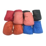 A Pair Winter Battery Car Motorcycle Water and Wind Resistant Thickened Cotton PU Gloves Winter Ski Gloves Riding Gloves