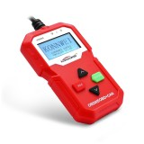 KW590 Mini OBDII Car Auto Diagnostic Scan Tools Auto Scan Adapter Scan Tool (Can Only Detect 12V Gasoline Car) (Red)
