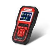 KW850 OBDII / CAN Car Auto Diagnostic Scan Tools Auto Scan Adapter Scan Tool Supports 8 Languages and 6 Protocols (Can Also Detect Battery and Voltage, Only Detect 12V Gasoline Car)