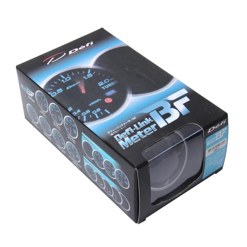 Defi BF 12V 2.5inch 60mm Universal Auto Meter Gauge Vacuum Gauge Defi-link Meter Car Vacuum Manometer Mini Dial Air Vacuum Pressure Gauge Meter Racing Car Meter