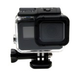 For GoPro HERO6 /5 30m Waterproof Housing Protective Case + Hollow Back Cover with Buckle Basic Mount & Screw
