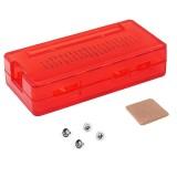 LandaTianrui LDTR-PJ012 ABS Protective Case with Heat Sink for Raspberry Pi Zero W / Zero (Red)