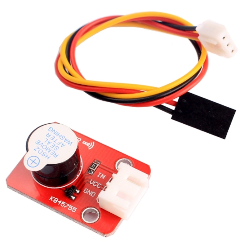 Active Buzzer Sound Sensor Module with 3 Pin Dupont Line for Computers /  Printer / Photocopier / Alarm / Electronic Toy / Automotive