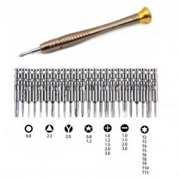 Repair-Kits JF-6095C 35 in 1 Professional Multi-Functional Screwdriver Set