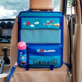 Car Auto Back Seat Folding Table Drink Food Cup Tray Multi-purpose Dining Table Chair Back Pocket Cartoon Folding Multi-functional Food Tray Car Storage Table