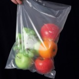 Roll Food Storage Bag Safety Vacuum Sealer Food Saver Bag for Kitchen Vacuum Storage Keep Food Fresh Grain Bag PE Bags, 25*35cm