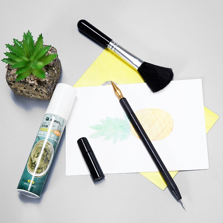 5 PCS / Set Scratch Painting Tool Scratch Pen Details of The Pen Repair The Pen Scraping Painting Special-purpose Painting Solution