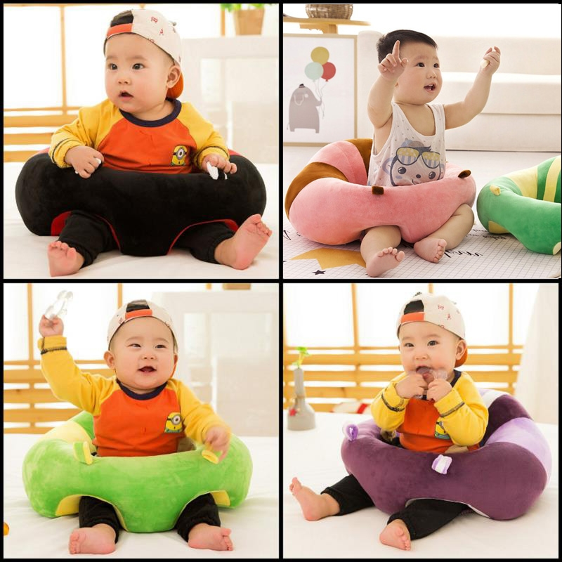 The Baby Learn Sit Chair Portable Dining Chair Plush Sofa