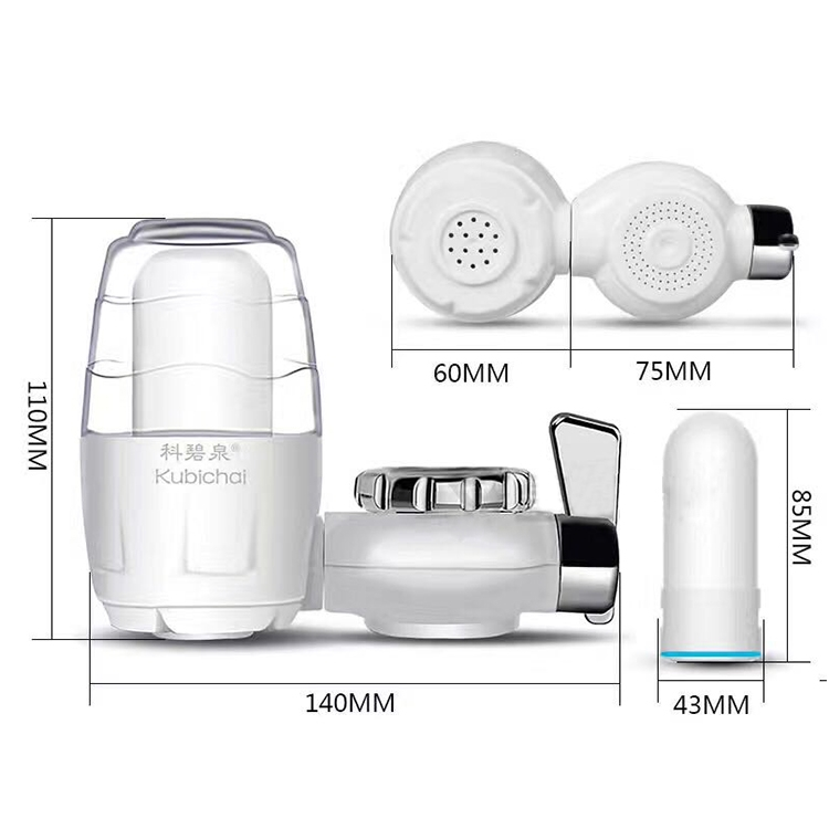 Kubichai Kitchen Water Filter Faucet Water Purifier