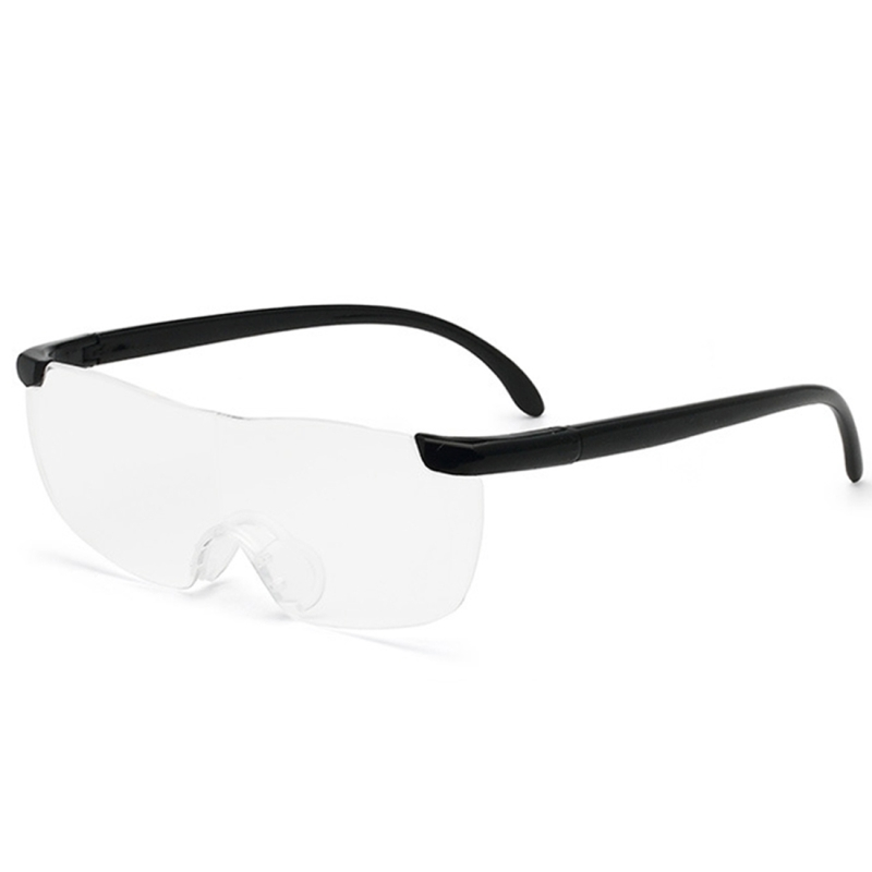Presbyopic Glasses, Ultra Thin High-definition 1.6X Portable Presbyopic Hypermetropic Reading Glasses, +2.50D