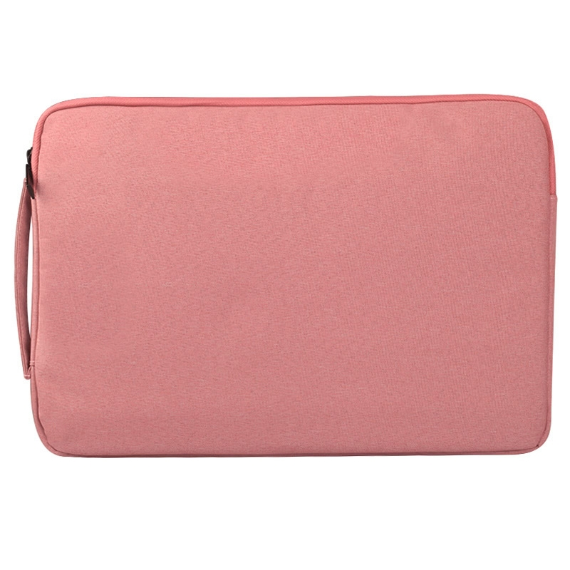Universal Multiple Pockets Wearable Oxford Cloth Soft Portable Simple Business Laptop Tablet Bag, For 12 inch and Below Macbook, Samsung, Lenovo, Sony, DELL Alienware, CHUWI, ASUS, HP (Pink)