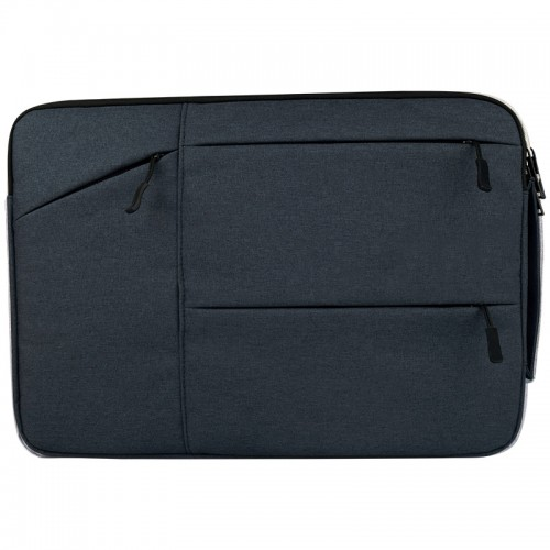 Universal Multiple Pockets Wearable Oxford Cloth Soft Portable Simple Business Laptop Tablet Bag, For 15.6 inch and Below Macbook, Samsung, Lenovo, Sony, DELL Alienware, CHUWI, ASUS, HP (navy)