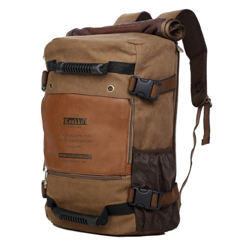 fd74ca9852d0 KAUKKO Outdoor Sport Climbing Canvas Large Capacity Backpack Camping Hiking  Trekking Rucksack Versatile Travel Crossbody Bag. HC8807K 1. ...