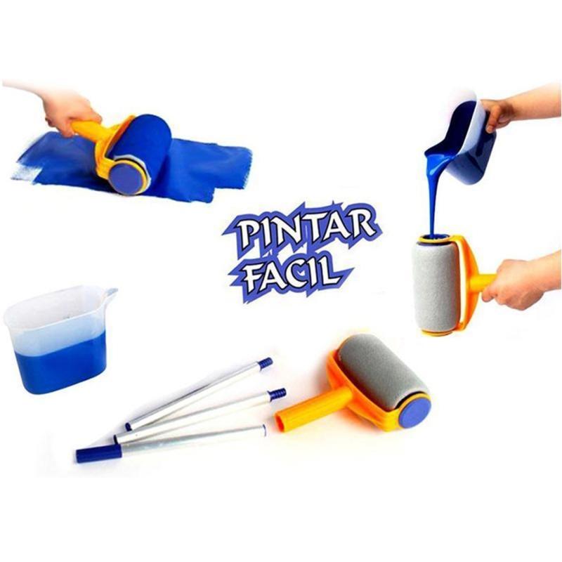 Pintar Facil Paint Runner Multifunction Roller Paint Brush Set