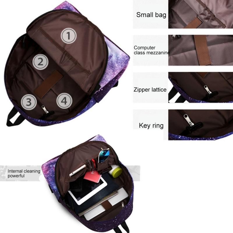 e8baa1fe9ccb Colorful Flowers Pattern Print Travel Backpack School Shoulders Bag for  Girls
