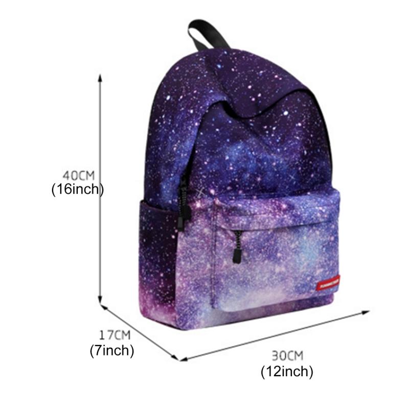 b98287c84bde Colorful Flowers Pattern Print Travel Backpack School Shoulders Bag ...